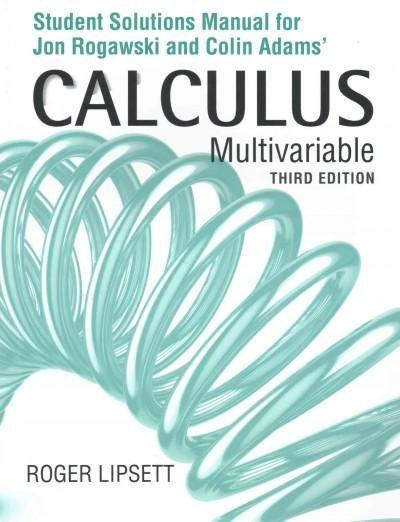 Multivariable Calculus Calculus Student Books