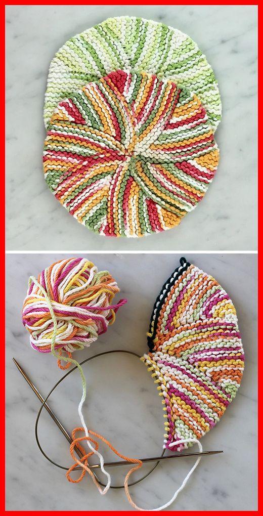 Photo of Easy as Pie Dishcloth – Free Pattern –   – #craftstodowhenbored #dishcloth #Easy…