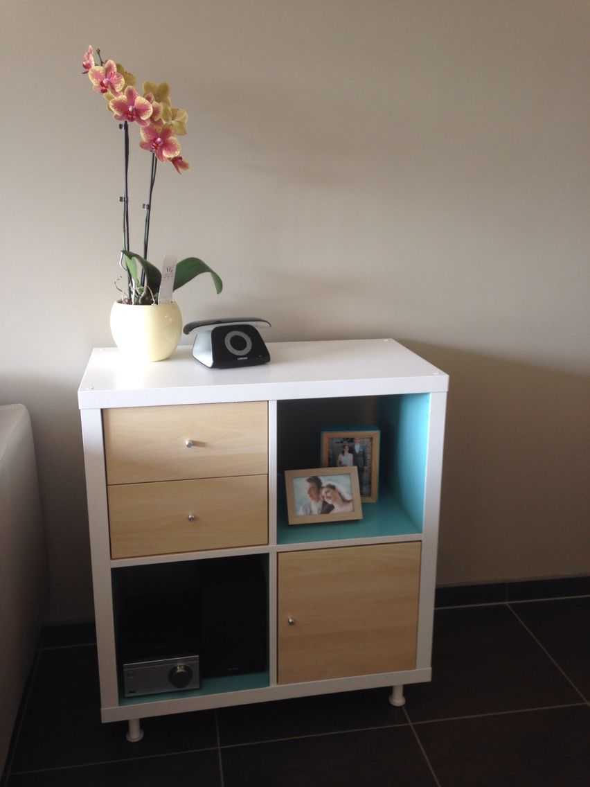 Ikea Kallax Hack Diy Design Pinterest Meubles Et D Co # Customiser Tiroirs Et Portes Kallax