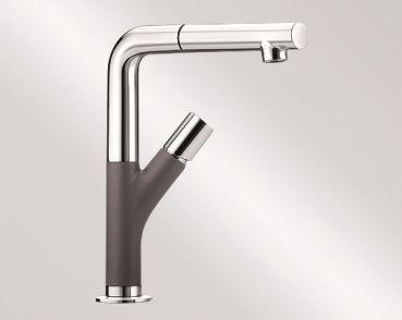 Küchenarmatur Anthrazit ~ Blanco yovis s küchenarmatur silgranit® look zweifarbig