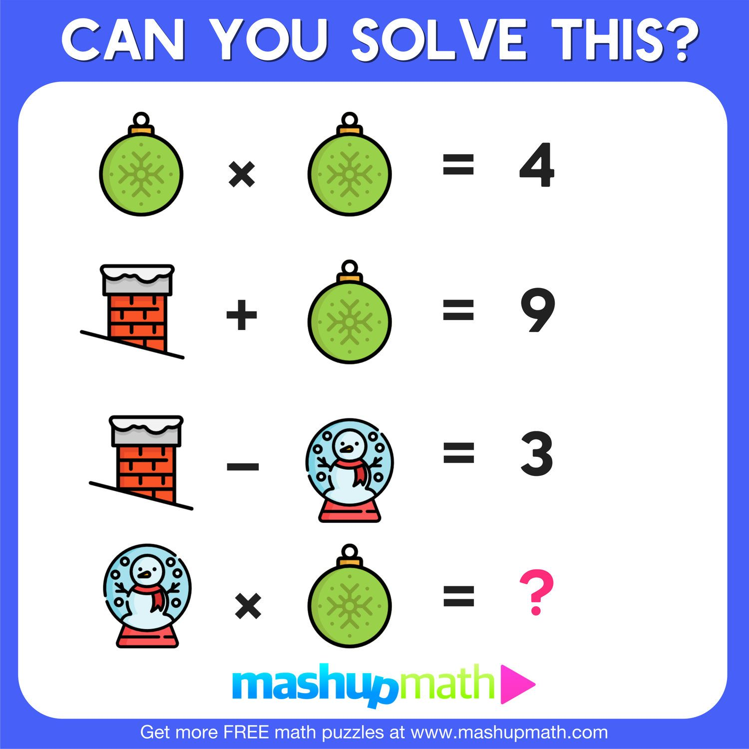 10 Free Christmas Math Activities For Your Kids With