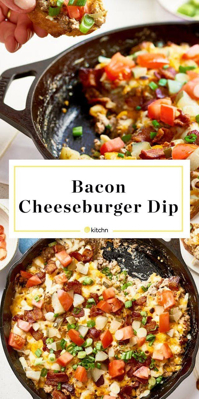Photo of Recipe: Bacon Cheeseburger Dip