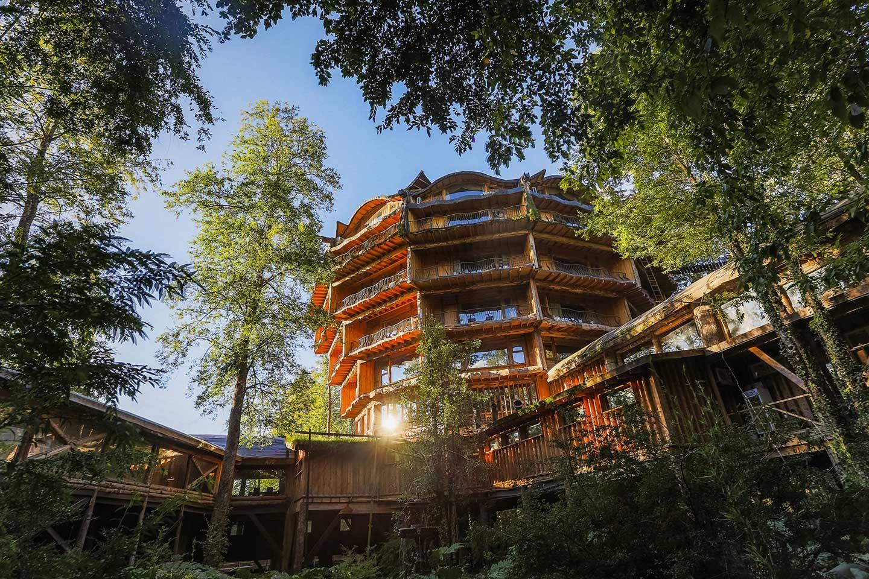 Huilo Huilo Nothofagus Hotel Huilo Huilo Biological Reserve Patagonia Codillera De Los Andes Chile Casa Del Arbol Huilo Huilo Hotel
