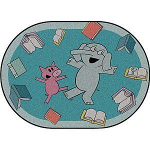 Mo Willems Elephant & Piggie Carpets