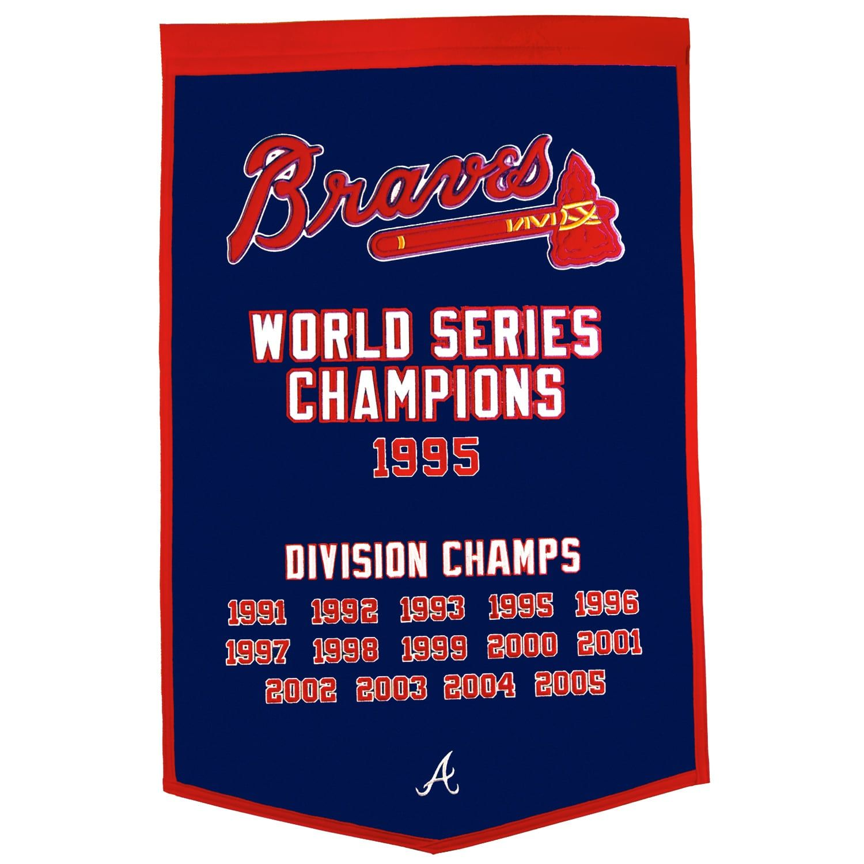 Atlanta Braves Dynasty Banner Braves Atlanta Braves World Series Atlanta Braves