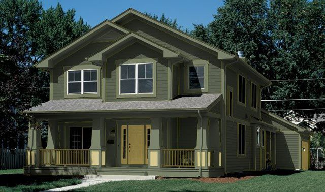 exterior house colors dark green. green exterior house colors