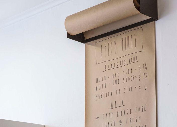 kraft paper dispenser wall mount meeting place pinterest kraft