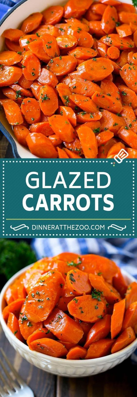 Glazed Carrots Recipe | Brown Sugar Carrots | Carrot Side Dish #carrots #brownsugar #sidedish #glutenfree #thanksgiving #fall #dinner #dinneratthezoo #fallrecipesdinner