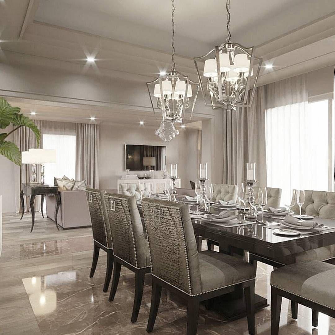 Interni Case Di Lusso Foto perfect color palette for a quiet and romantic dinner