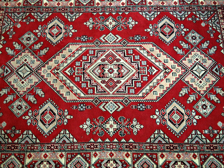 Super Large Vintage Rug Soviet Carpet Livingroom Rug Red Rug
