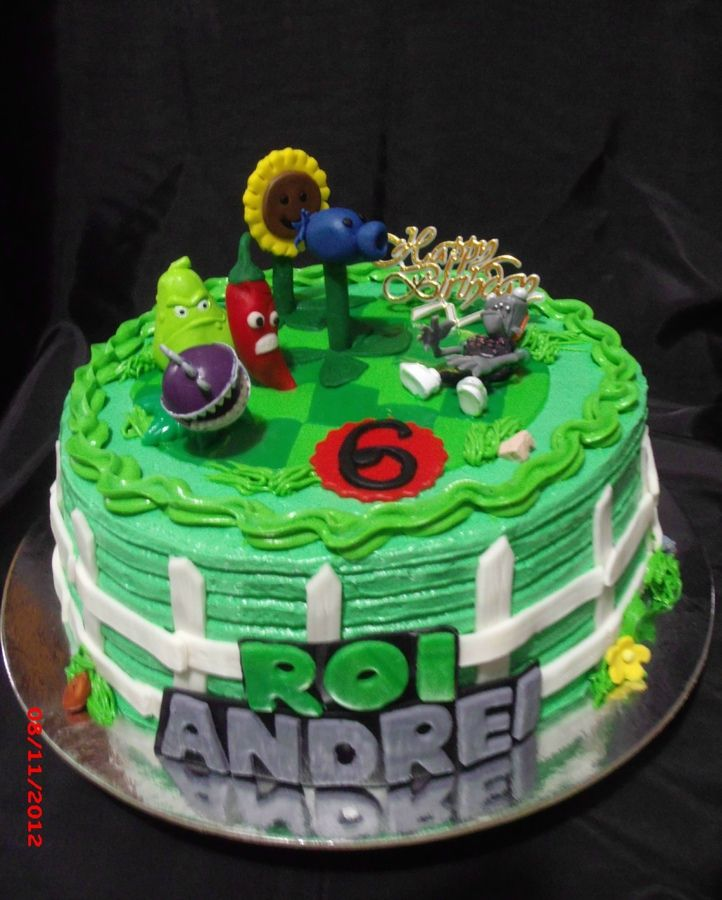 plants vs zombies cake ideas - Google Search