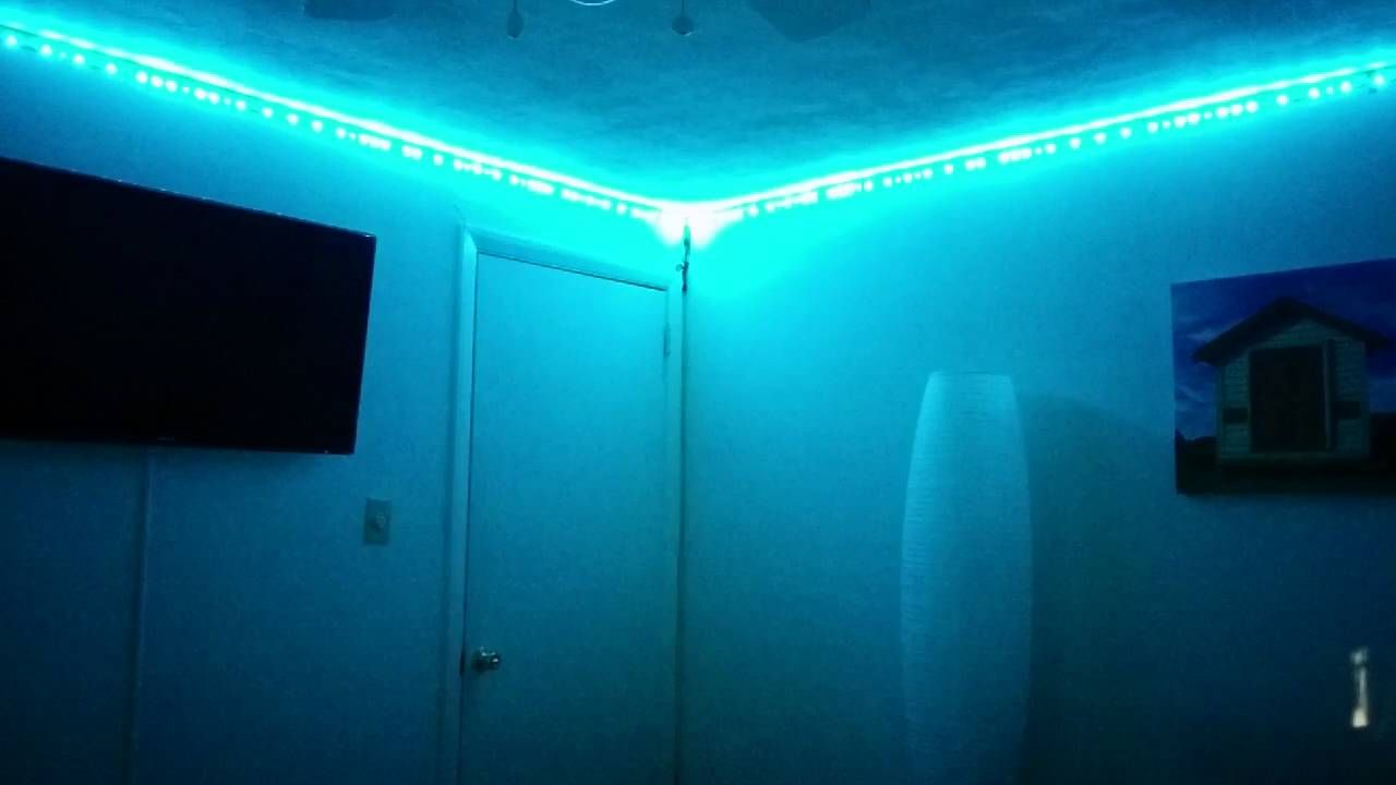 Addressable Rgb Led Light Strip Synced To Music Using Vivi Music