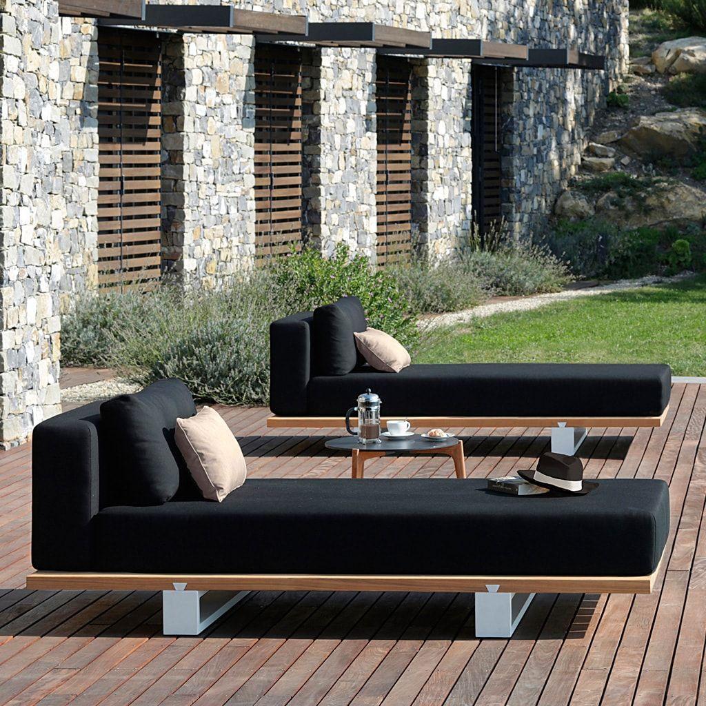 Luxury Modular Garden Sofa Outdoor Living Furniture Garden Sofa