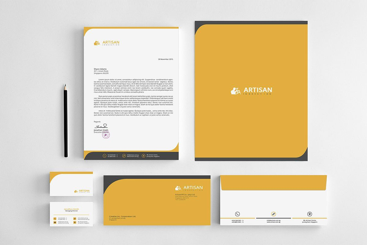 Corporate Identity , #SPONSORED, #attractive#stationary#clean#Corporate #affilia...