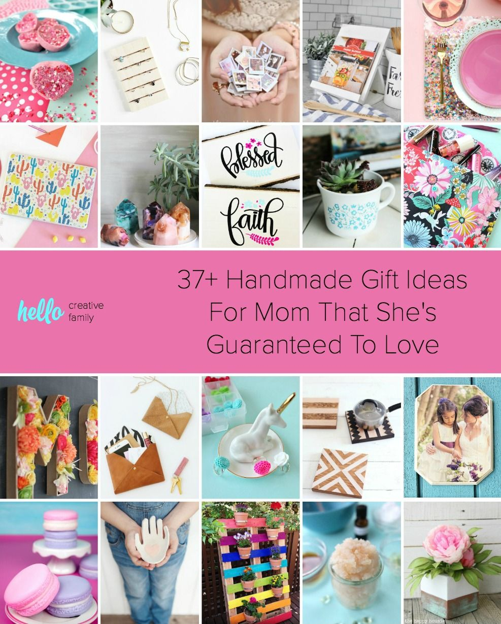 37+ Handmade Gift Ideas For Mom That She's Guaranteed To