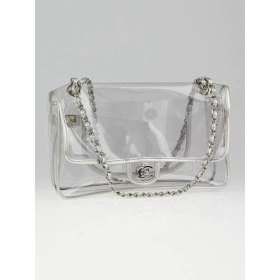d4dc305b4 Chanel Transparent Naked Large Classic Flap Bag | fabulous fashion ...