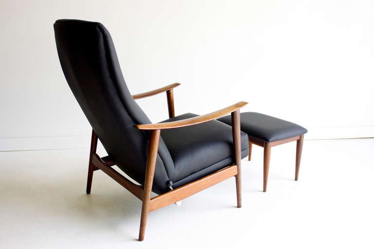 Danish Reclining Lounge Chair You'll Love