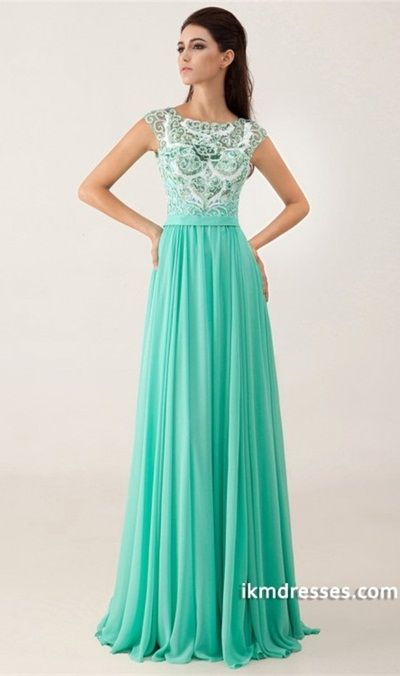 http://www.ikmdresses.com/2014-Bateau-Neckline-Beaded-Bodice-Open-Back-A-Line-Floor-Length-Chiffon-Prom-Dress-p84992