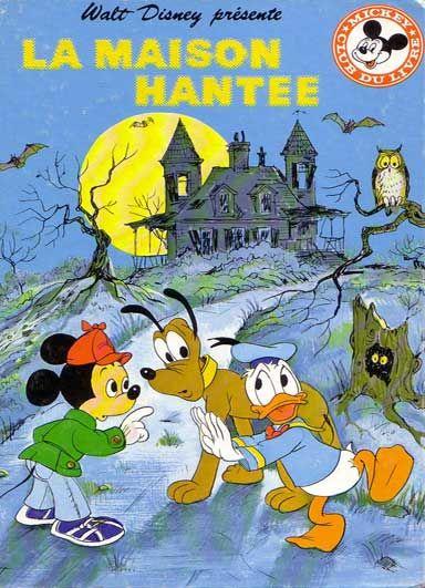 Couverture De Mickey Club Du Livre 131 La Maison Hantee