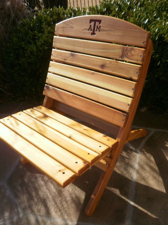 Custom Order Handmade Folding Tailgate Chair Licensed Local Pick Up Only Tailgate Chairs Chair Lawn Chairs