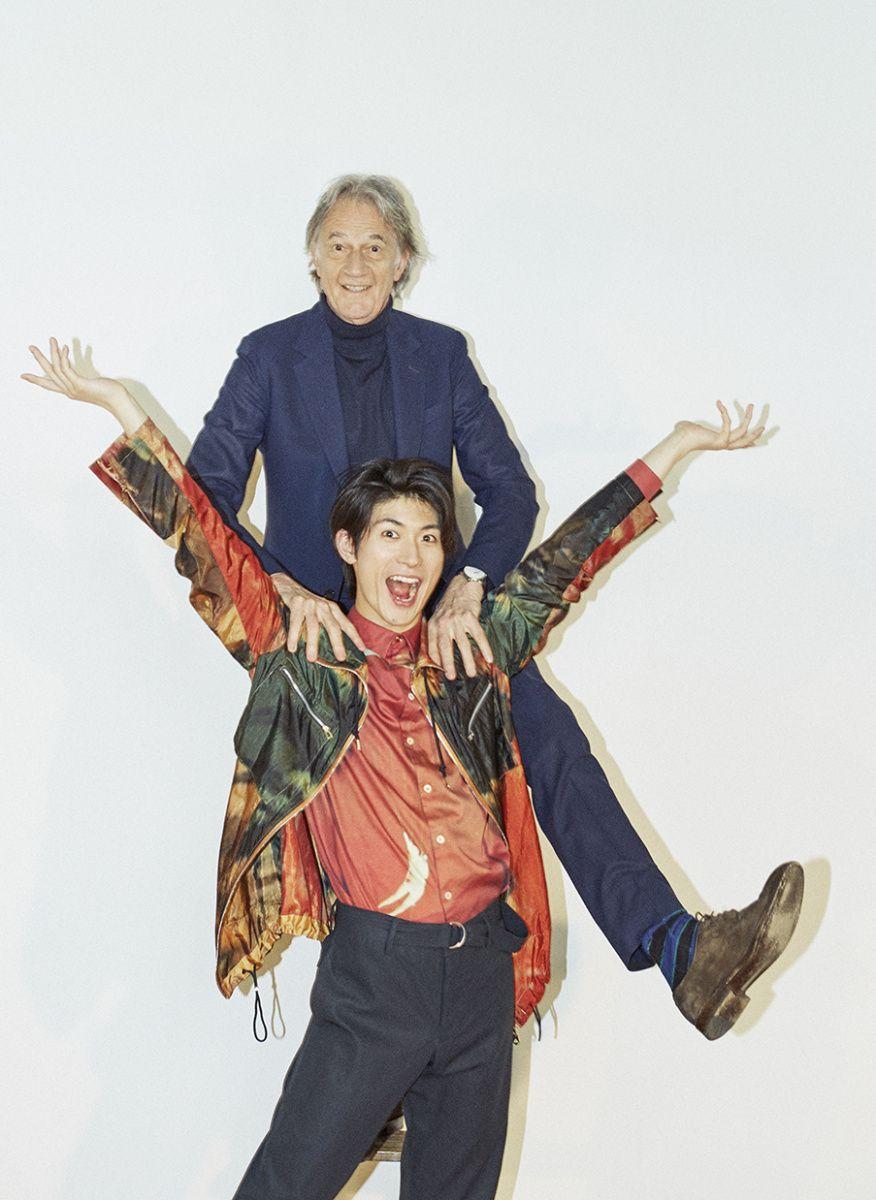 ポール スミスと三浦春馬 ふたりの表現者が描く 自由でポップな瞬間 三浦春馬 三浦 ポールスミス