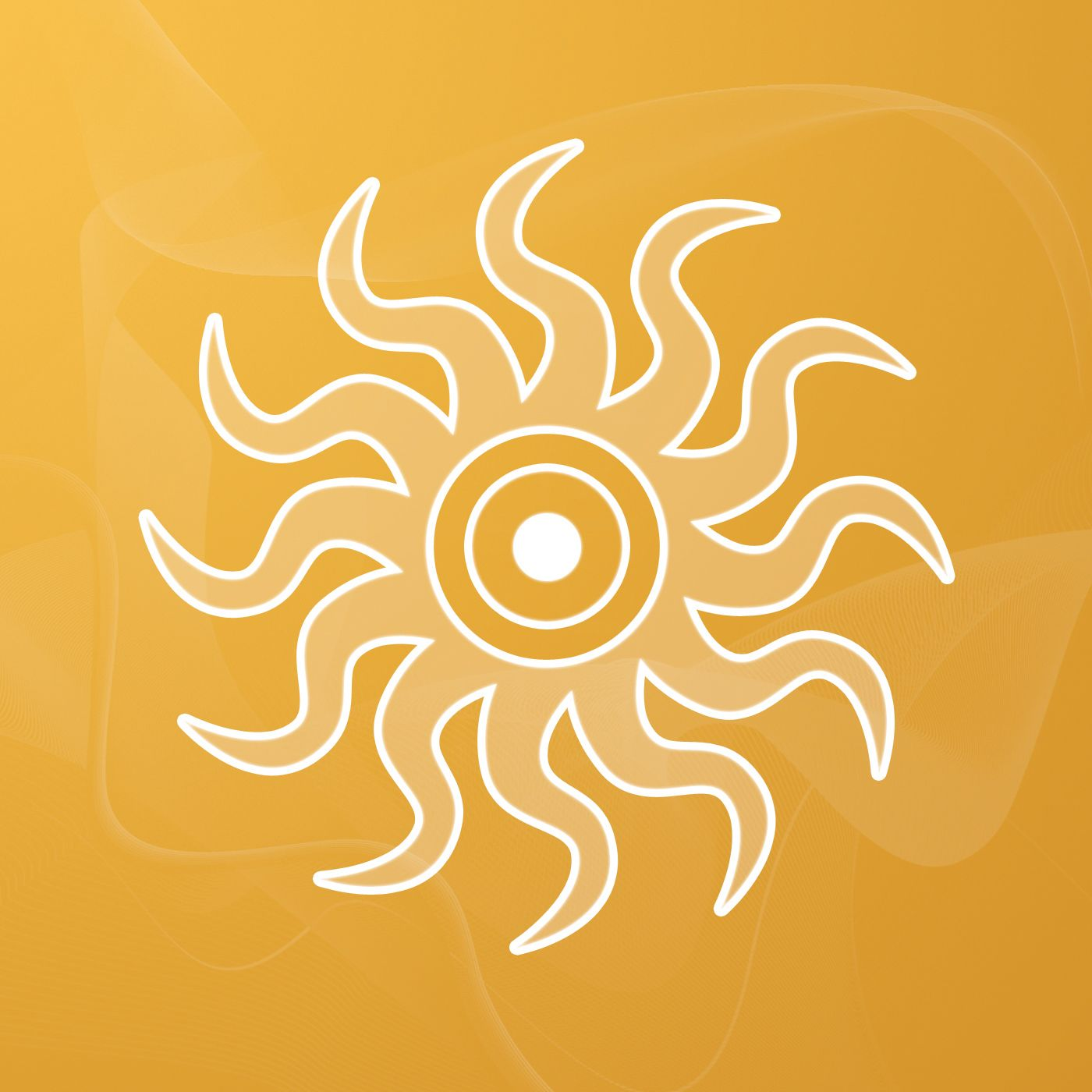 Sigils symbols sun salutation by sallie m keys this image in the center of the sun is the alchemical symbol for gold which represents spiritual insight buycottarizona