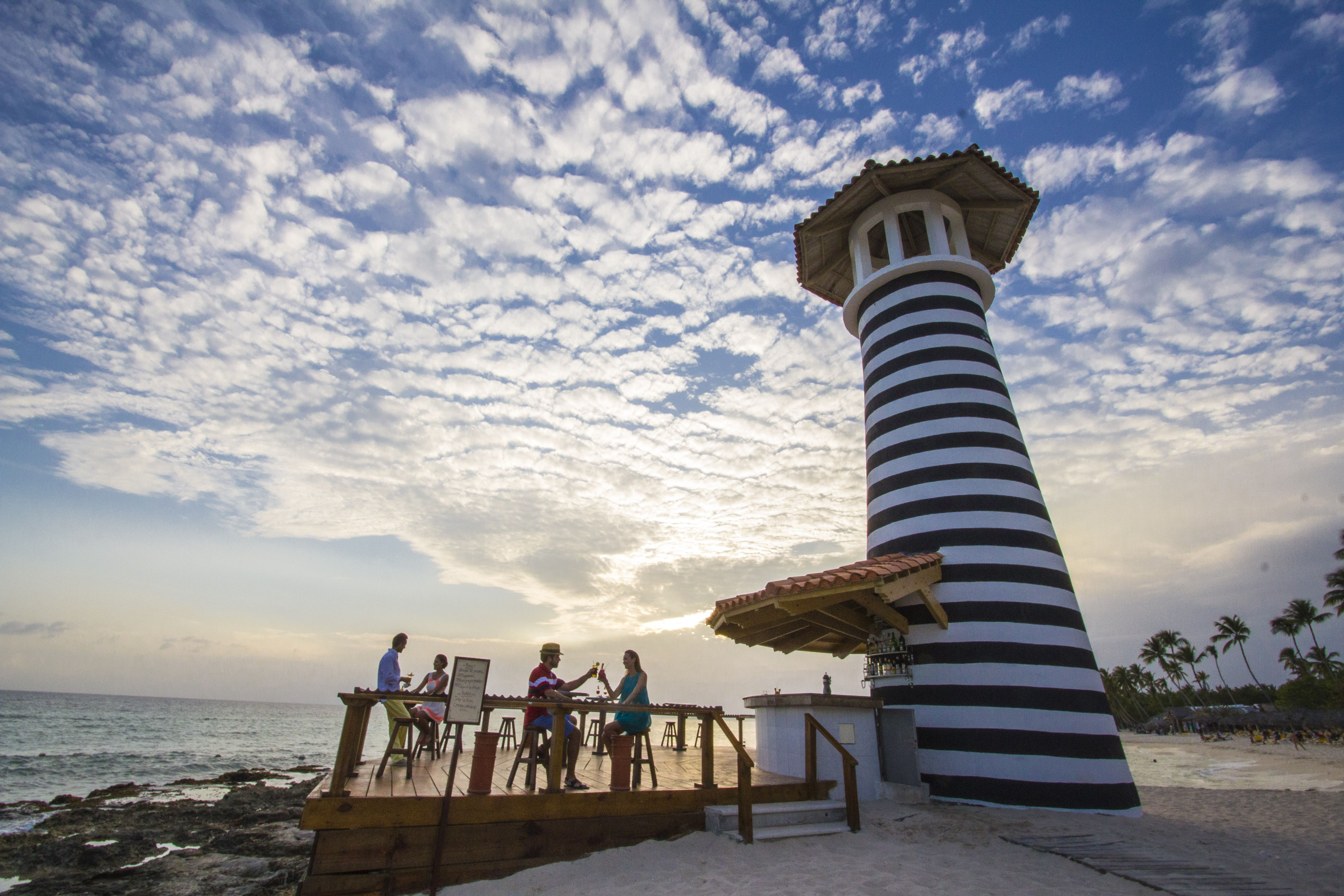 The Lighthouse At Playa Dominicus In La Romana Dominican Republic