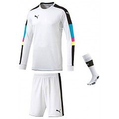 79e3863e5c1 PUMA TOURNAMENT GK SET WHITE Soccer Gear