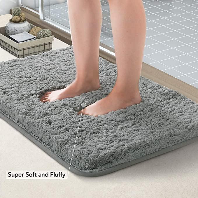 Amazonsmile Lifewit Bathroom Runner Rug Bath Mat 59 X20 Non Slip Soft Long Shower Rug Plush Microfiber Water Absorbent Carpet Thick Shaggy Luxury Floor Mats In 2020