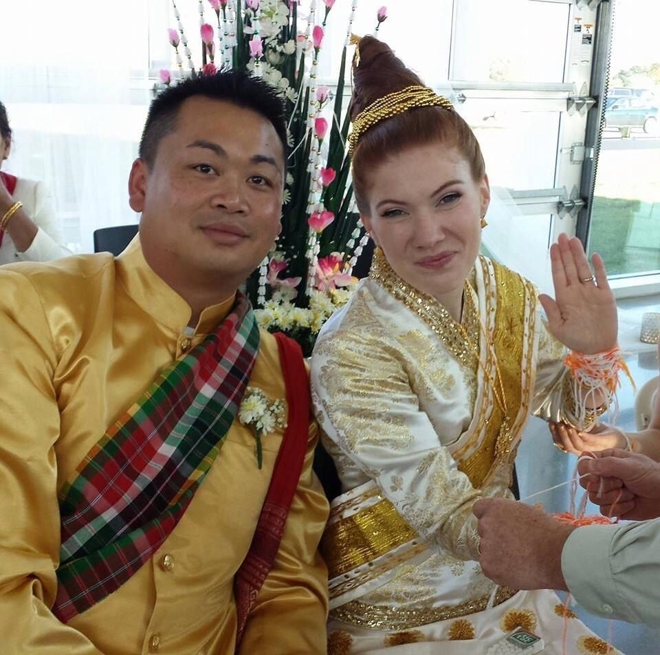 Traditional Laos Wedding. I Tried To Be As Traditional As