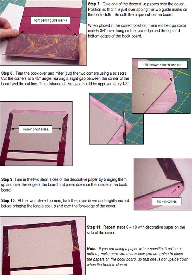 How To Case In A Texblock Handmade Book Bookbinding Handmade Books