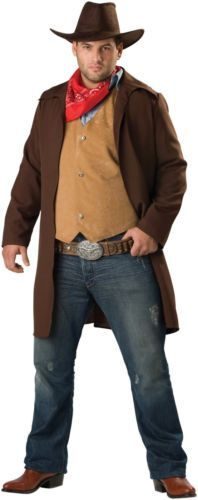 Rawhide Renegade Plus Adult Wild West Theme Costume