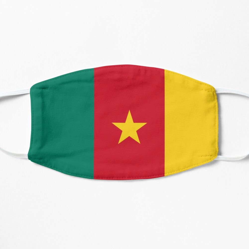 Cameroon Mask By Awesomemasks In 2020 Cameroon Mask For Kids Cameroon Flag