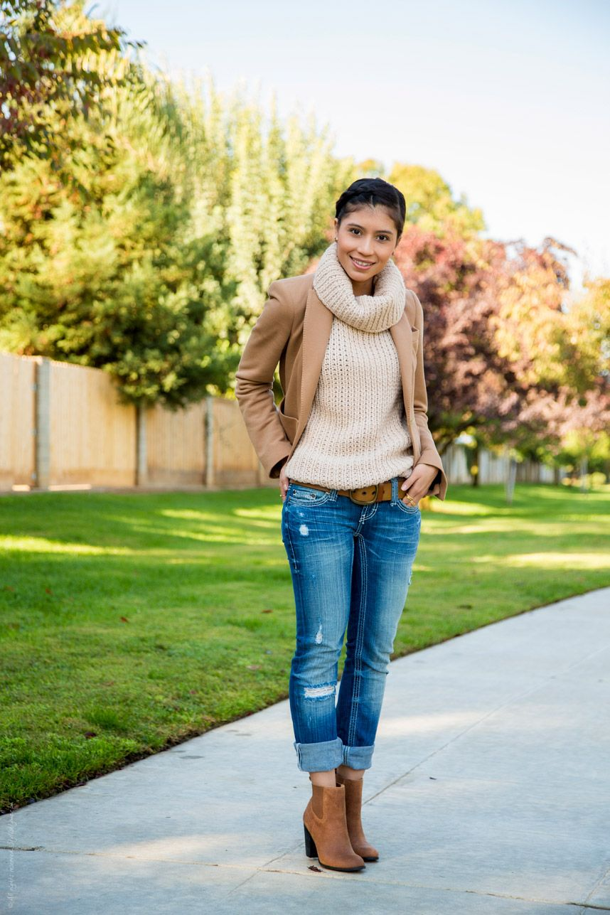 Fall Cute outfits with boots photo