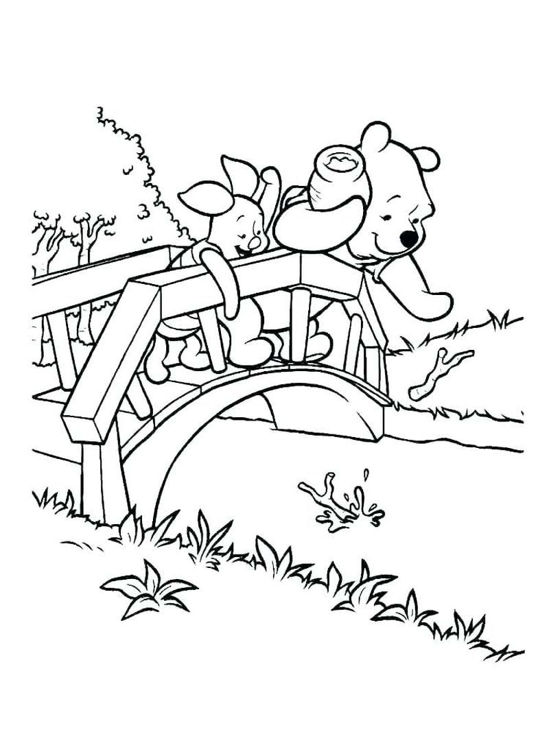 Cute Winnie The Pooh Coloring Pages Ideas For Children ...