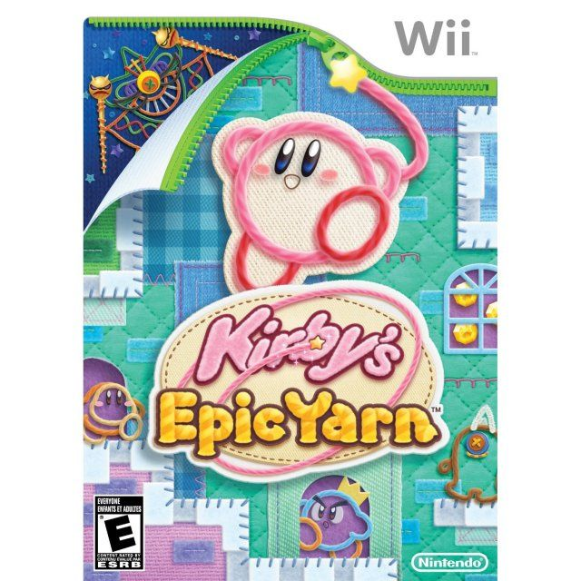 Kirby S Epic Yarn Wii Games Kirby Games Kirby