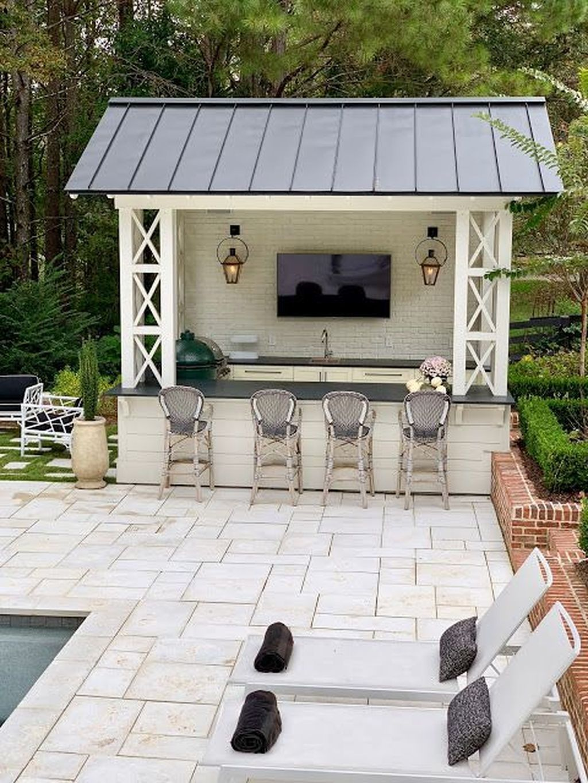 39 Inspiring Backyard Ideas For Home Small Pool Houses Pool Houses Backyard Pool Designs