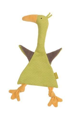 Organic Gosling Blankie (green)