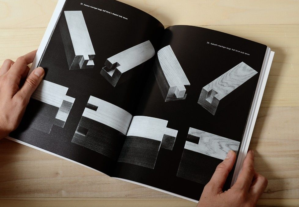 JOINERY - The Art of Japanese Joinery Book. Unique history and development of Japanese carpentry showing 48 different joints.