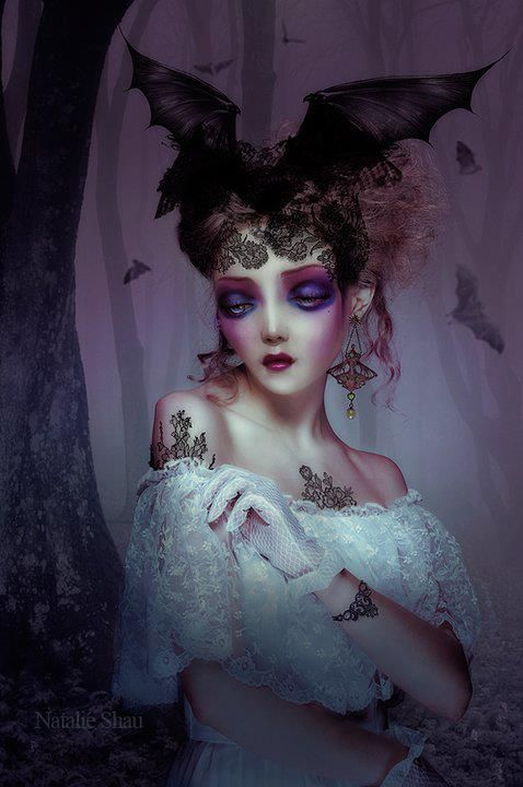 by Natalie Shau is mixed media artist and photographer based in Lithuania (Vilnius).