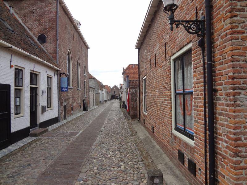 Een willekeurig straatje in Elburg