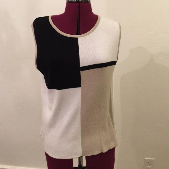 Designer Original 100% cotton sweater vest 100% cotton sweater vest Designer Originals Sweaters Crew & Scoop Necks