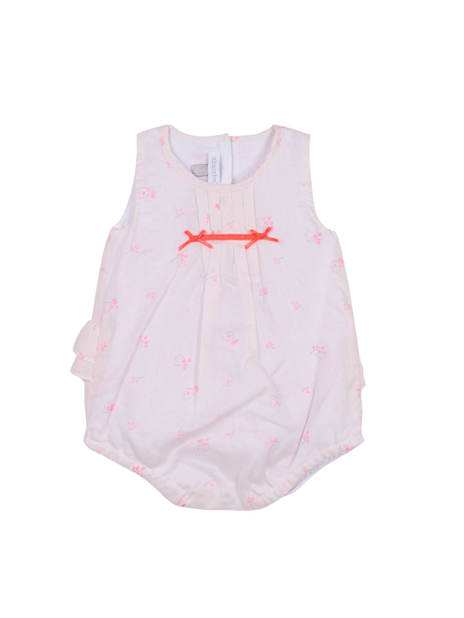 40bbacf62a35 Absorba Girls Pink All In One Shortie - House of Fraser