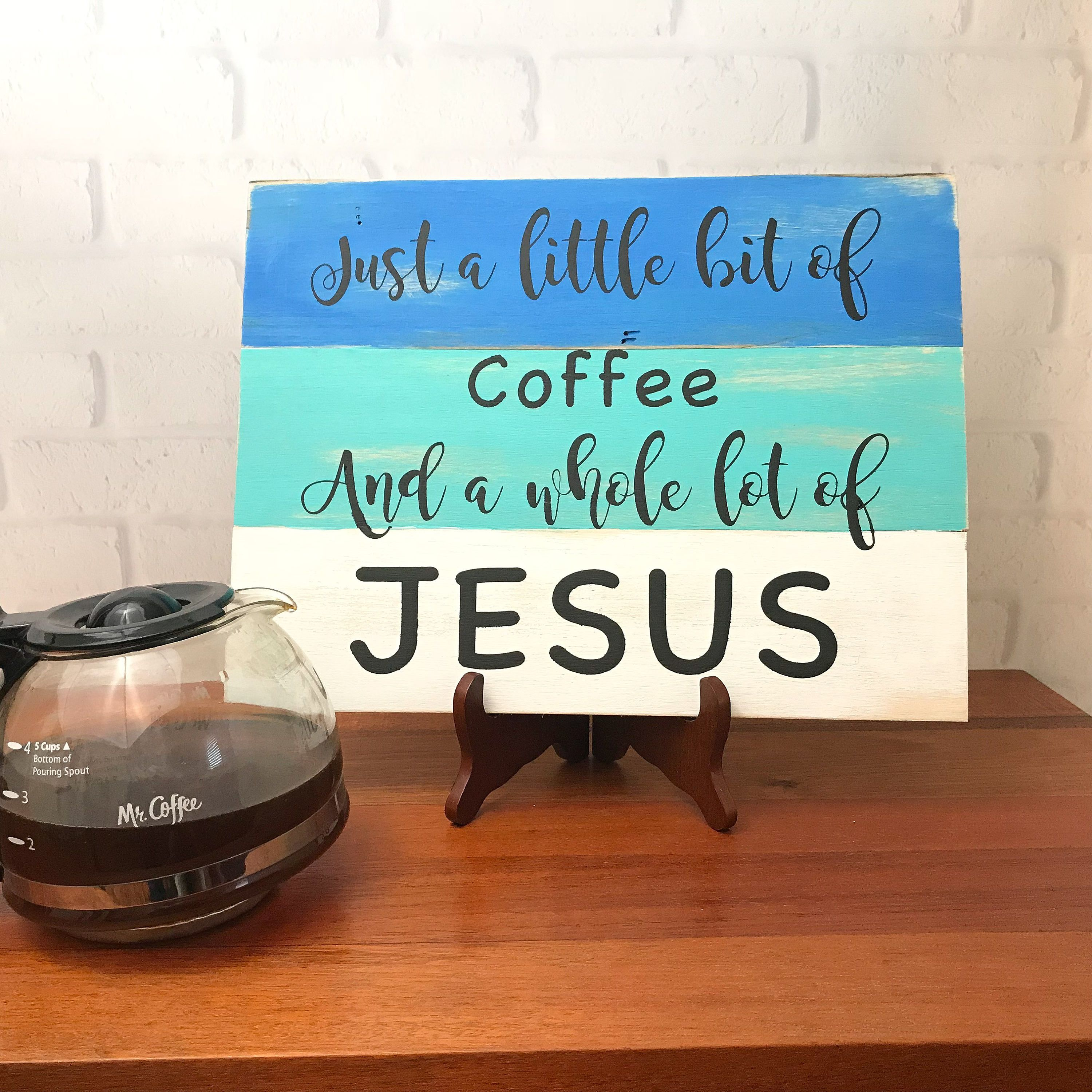 Religious Custom Wood Sign, Custom Painted Wooden Sign, Religious ...