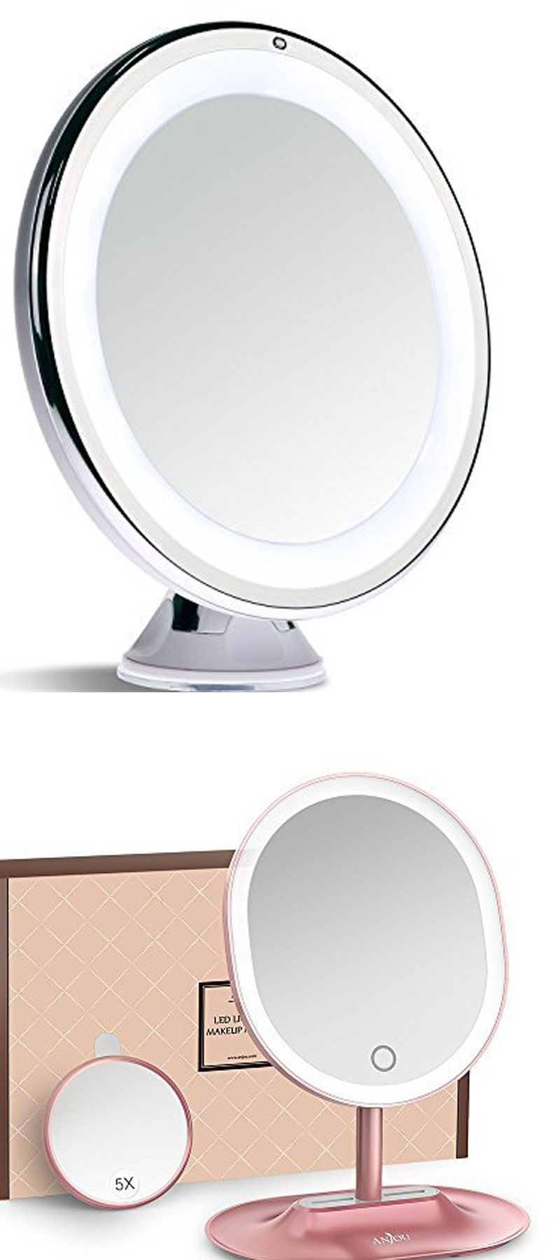 Best Top Ten Lighted Makeup Mirrors Makeup Mirror With Lights