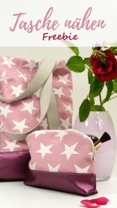 Tasche MaryJo - kostenlose Nähanleitung zum Download #gratisschnittmuster