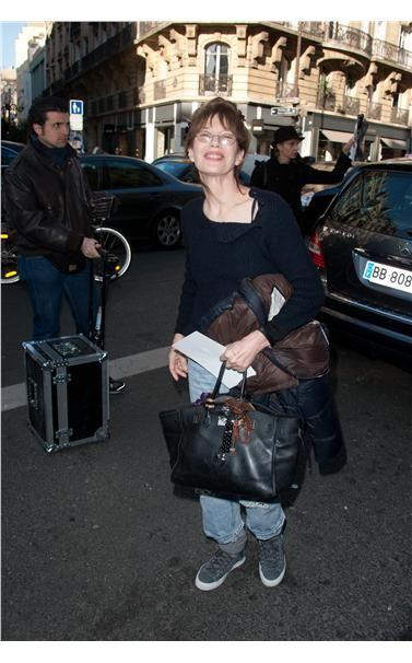 Jane Birkin Carrying A Bag