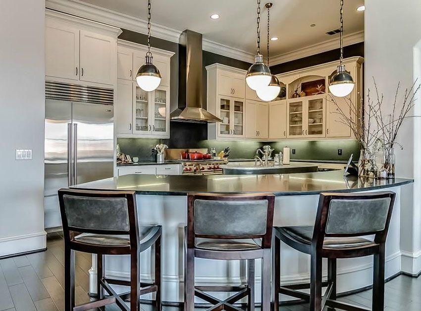 33 Kitchen Peninsula Ideas (Pictures