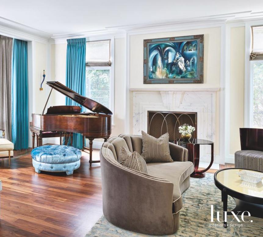 17 Piano Rooms With High Note Designs Luxe Interiors Design In 2020 Piano Room Decor Grand Piano Living Room Piano Living Rooms