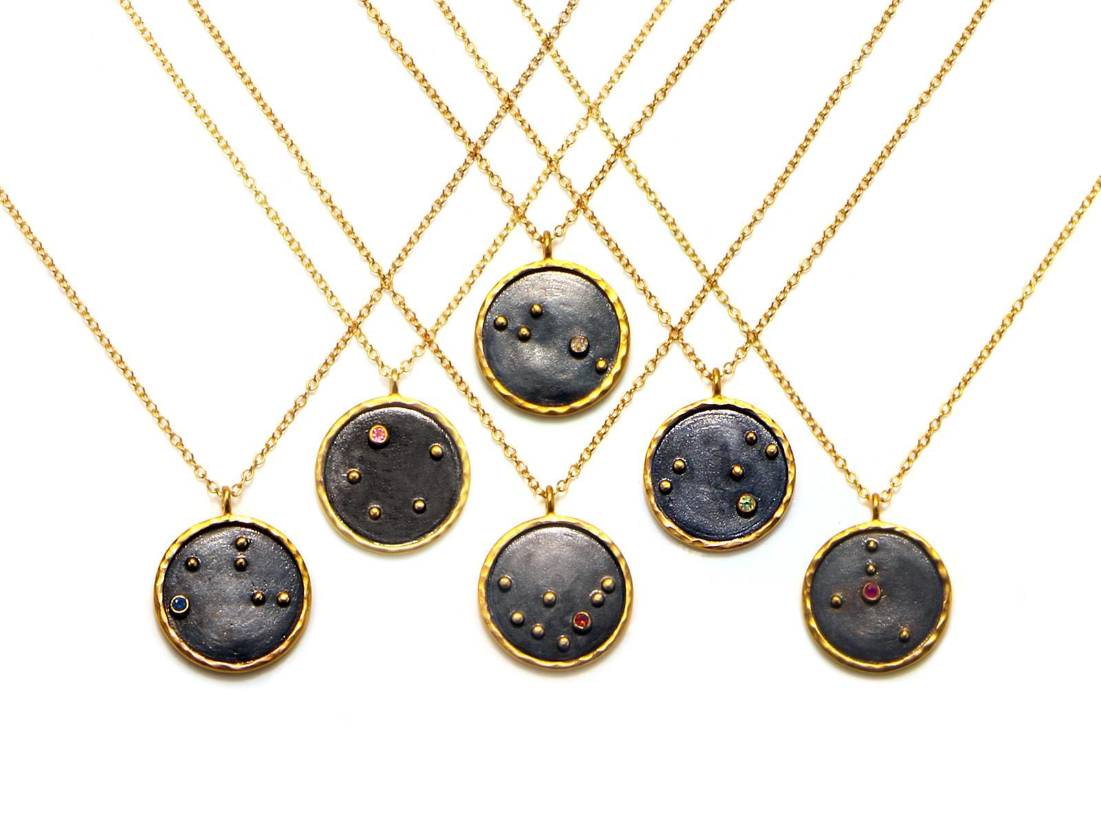 Zodiac necklace jewlery and jewel